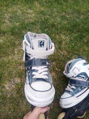 Roller blades kids boys/girls for Sale in Wenatchee, WA