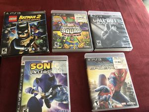 PS3 games for Sale in Deltona, FL