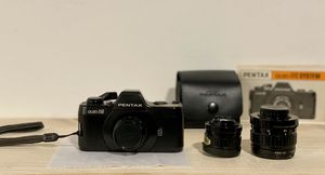 Pentax Atuo 110 film camera with complete lens set. Working. Tested. for Sale in Portland, OR