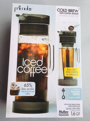 Primula Cold Bree Coffee System for Sale in Falls Church, VA