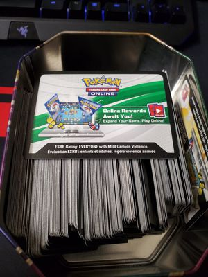 Pokemon codes for Sale in Monterey Park, CA