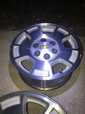 """Silverado will fit any Chevy only size 17"""" for Sale in San Antonio, TX"""