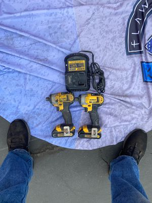 2DeWalt impact with charger 20V for Sale in Pico Rivera, CA