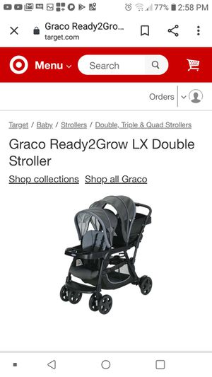 Double stroller for Sale in Dallas, TX