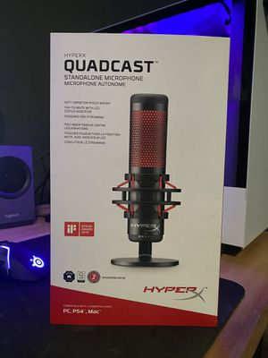 Hyper X Quadcast Gaming Mic for Sale in Vancouver, WA