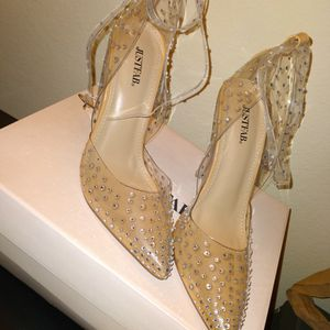 Embellished Clear Heels for Sale in Saint Charles, MO