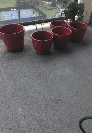 7 Red Pots for Sale in Alexandria, VA