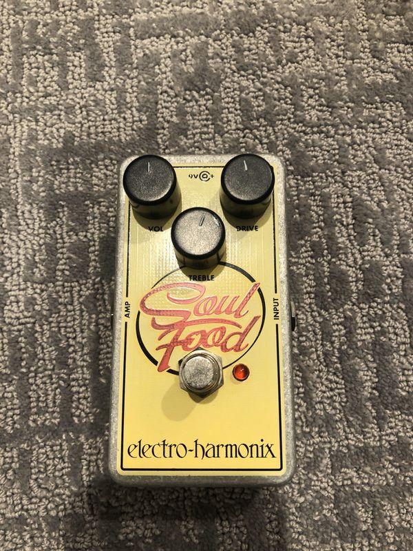Soul Food Transparent Overdrive pedal