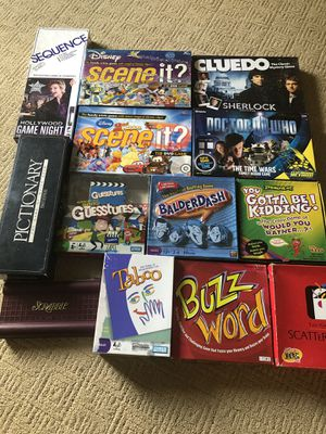 Board games for Sale in Vancouver, WA