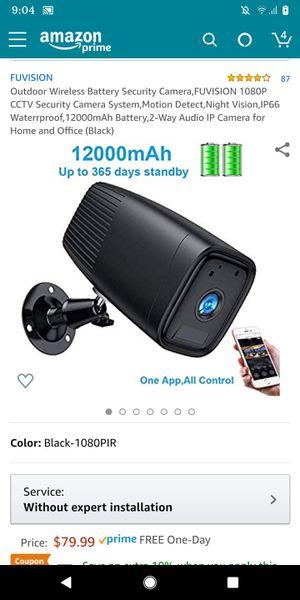 Outdoor security camera for Sale in Santa Clara, CA