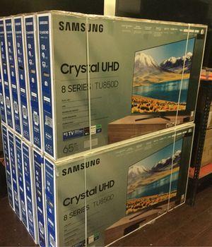 Samsung 65 inch 4K TV eight series 2020 model smart with warranty un65tu8500 for Sale in Pasadena, CA