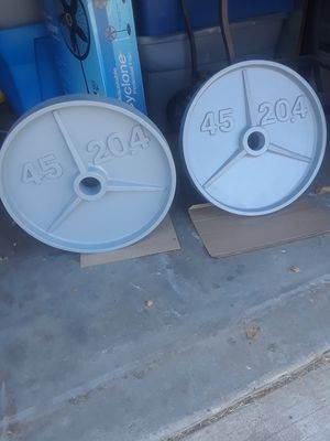 Olympic plates ( 2 ) 45s for Sale in Palmdale, CA