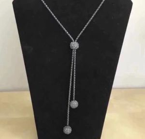 Blackened silver chain with rhinestones for Sale in South Plainfield, NJ