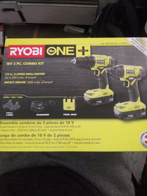 Ryobi 18v 2 PC Combo Kit (NEW) for Sale in Winston-Salem, NC