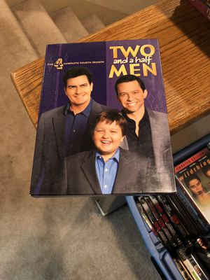 Two And A Half Men The Complete Fourth Season DVD four 4 S4 Box Set Charlie Sheen for Sale in Buena Park, CA