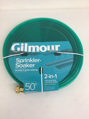 Gilmour 5/8 in. Dia. x 50 ft. All-in-One Sprinkler Soaker Hose for Sale in Los Angeles, CA