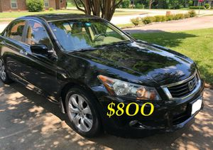 ✅✅📗URGENT $8OO I sell my family car 2OO9 Honda Accord Sedan EX-L Runs and drives very smooth.Clean title!!✅✅📗 for Sale in Warren, MI