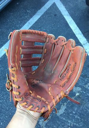 Spalding Pro-B120 Pro Caliber Top Grain Leather RH Baseball Glove for Sale in San Fernando, CA