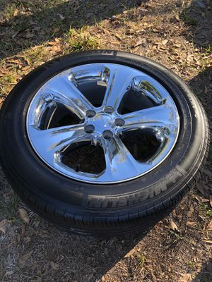 Dodge Charger Factory Chrome Wheels and Tires for Sale in Safety Harbor, FL