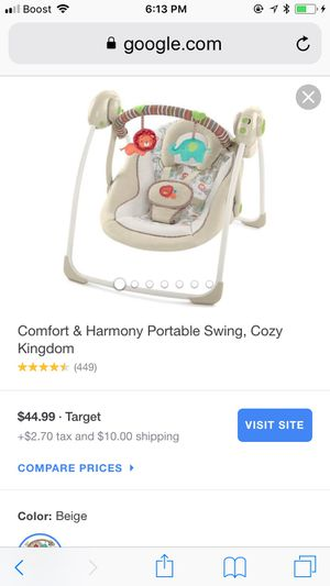 Baby swing for Sale in Baltimore, MD