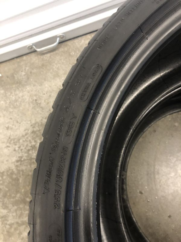 255/35r19 Michelin Pilot sport A/S3+ tires
