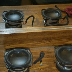 """A Pair Of Mid Range 4"""" JBL Woofers Previously Housed In A JBL Boombox 2 for Sale in West Valley City, UT"""