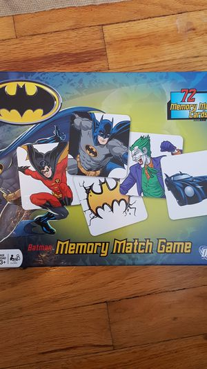 Batman memory match game for Sale in Los Angeles, CA