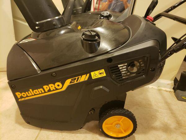 Populan pro snow blower