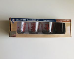 Houston rockets collectible glass shot set (4) for Sale in Houston, TX