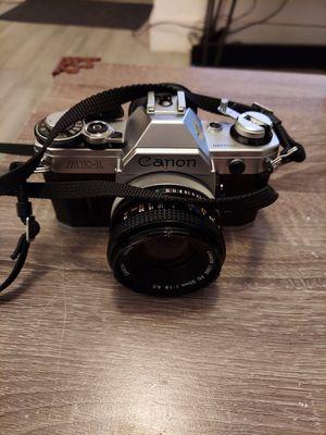CANON AE-1 SLR Film Camera & CANON FD 50mm f1.8 Lens Read Description for Sale in Miami, FL
