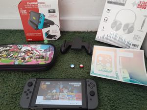 nintendo switch bundle with over 27 games for Sale in Santa Ana, CA