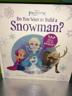 Child's Frozen book for Sale in Buffalo, NY
