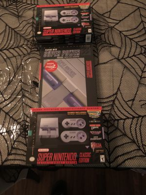 Super Nintendo GameStop bundle for Sale in Brooklyn, NY