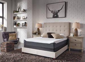 ***ONLY MATTRESS*** Ashley Furniture Queen Size 10in Gel Memory Foam Mattress for Sale in Fountain Valley, CA