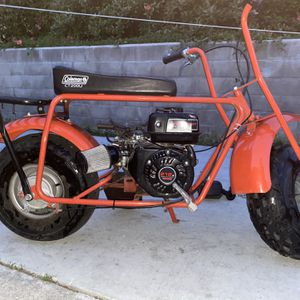 Mini Bike- Coleman Frame, Pretador 212 Engine for Sale in Milpitas, CA