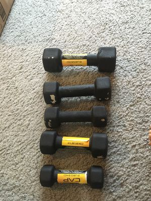 CAP barbell neoprene dumbbell multiple sizes (price negotiable) for Sale in Wilsonville, OR