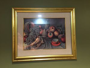Signed & certified Framed Art from Italy. for Sale in Des Plaines, IL