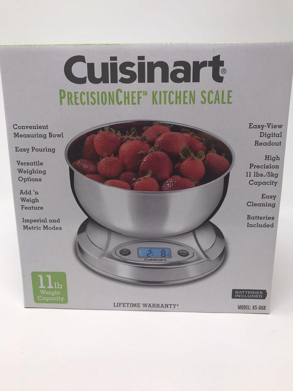 Cuisinart precision chef kitchen scale 9 available