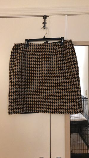 Houndstooth Skirt from Talbots for Sale in Arlington, VA
