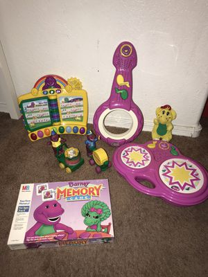 Barney toys for Sale in Peoria, AZ