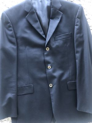 Burberry jacket navy color sz.40/M. for Sale in Kent, WA