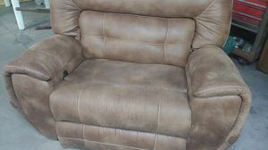 Soft leather loveseat and couch for Sale in Masontown, PA