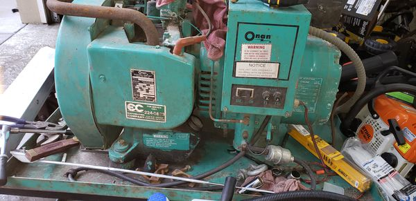 Onen generator in great condition low hours I bought it to put in my camper but went a different route