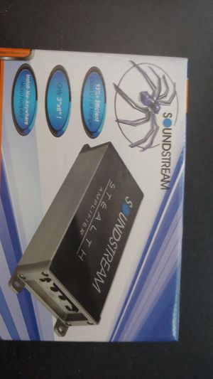 Soundstream amp for Sale in Pine Bluff, AR