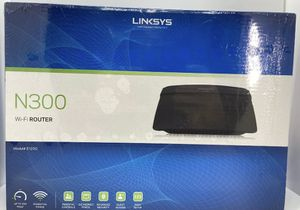 New Linksys E1200 N300 Smart Wi-Fi Wireless Router E1200 300Mbps 4 Ethernet Ports for Sale in Gresham, OR