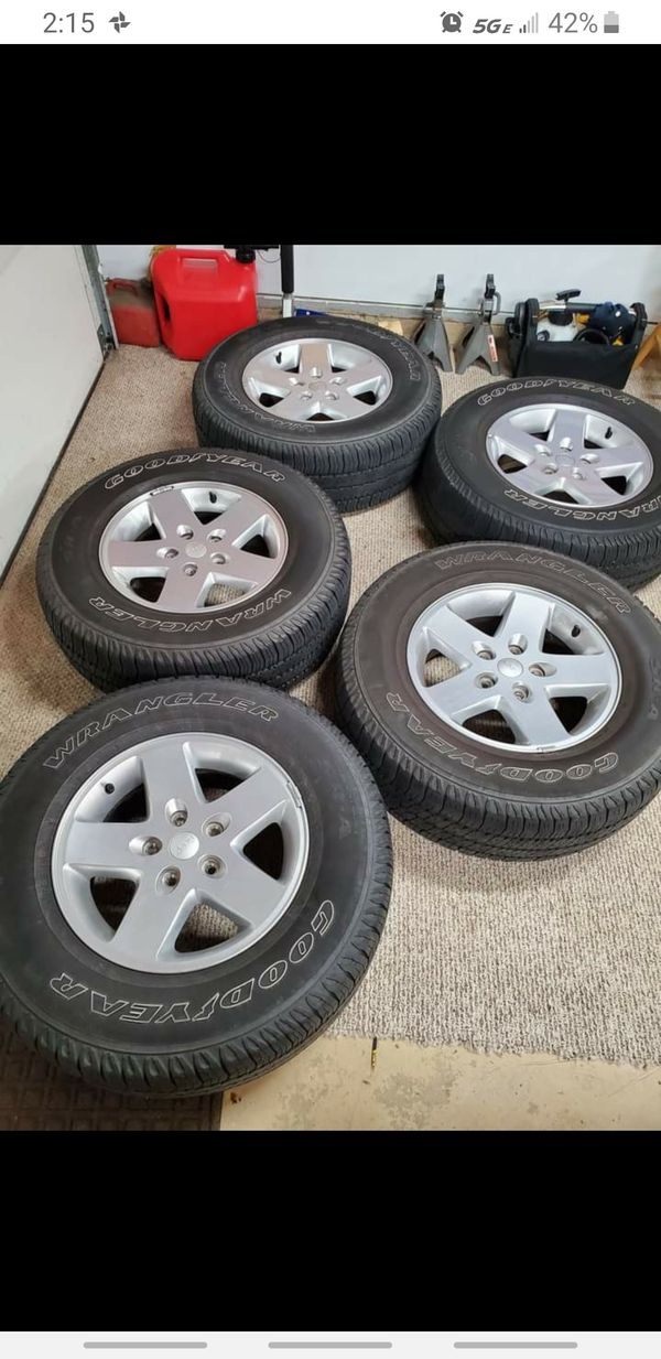 Tires and rims 255/75 R17