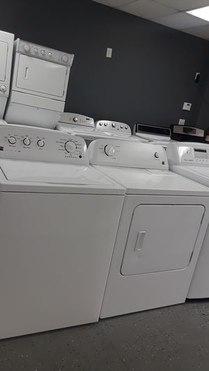 KENMORE WASHER & DRYER SET TRIPLE ACTION AGITATOR HE for Sale in Lawrenceville, GA