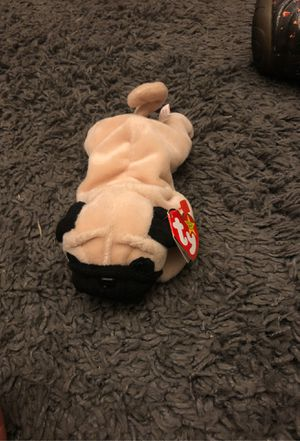 Beanie baby pugsly for Sale in Madera, CA