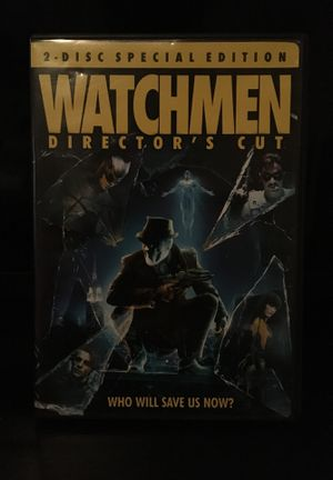 WATCHMEN 2-disc Special Edition for Sale in Brentwood, TN