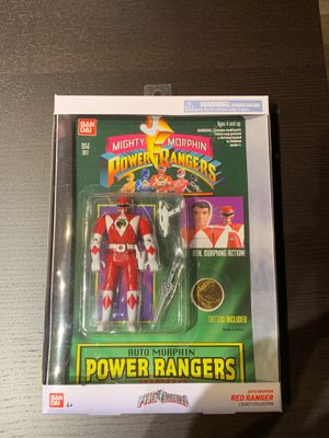Power Rangers Auto Morphin Red Ranger Legacy Collection - Brand New for Sale in San Diego, CA